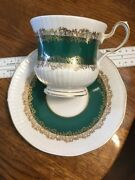 Vintage Queens Rosina China Cup And Saucer Marquis