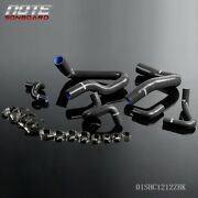 Silicone Radiator Hose Kit Black Fit For 1986 - 1993 Mustang Gt Lx Cobra 5.0