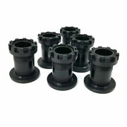 Moto Metal Gloss Black 6 Pc. Wheel Center Hub Cap Chain Links For 17and039and039-18 Mo977
