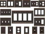 Wall Plates Bronze Switch Outlet Plate Cover Wall Decor Rocker Toggle