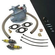 Carburetor Kit With Hardware For Massey Ferguson To20, Te20, To30 Tractor Engine