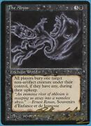 The Abyss Legends Nm-m Black Rare Reserved List Signed Card Id 36995 Abugames