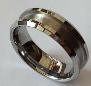 Tungsten Carbide Ring Blank For Inlay