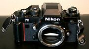 Nikon F3 35mm Film Slr Body With 4 Nikkor Lensand039s Flash And Motor [reduced]