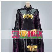 Superhero Bat Girl Cosplay Costume Halloween Jumpsuit Outfit All Sizes With Mask