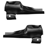 Ford Bronco Front Door Lower Rear Pillar Set Left And Right 1980-1996