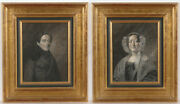 Rudolf Friedrich Carl Suhrlandt Husband And Wife Two Important Drawings 1839