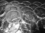 10 Different Old Rare Uncirculated Kennedy Half Dollars Mint Cello Free Shipping