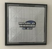 Superb Wall Mount Display Case For A Full Size Authentic Hollywood Mlb Base