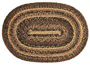 New Ihf Cappuccino Braided Jute Rugs Oval Rectangle Br-201 -free Usa Shipping