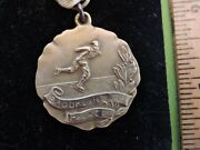 Rare Ca. 1925 Brooklyn Ice Palace Ice Skating Gold-filled Medal New York City