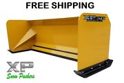 7and039 Xp30 Snow Pusher Boxes Skid Steer Backhoe Loader Bobcat Free Shipping