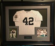 Mariano Rivera Signed Jersey In Frame