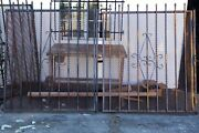 Set Of 3 Vintage Industrial Iron, Window Grate, Guards Gates, Fence Panels