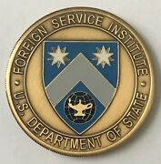 Dos Dept Of State Foreign Service Institute 46th Sr Seminar Ses Training Coin