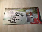 1962 Chevrolet Truck Custom Feature Catalog Guide Booklet