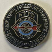 Nypd Nyc Police Dept Highway Patrol Motor Carrier Safety Unit