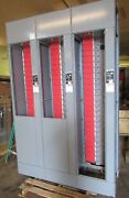 3 Square D 1600 A / 600 A Model 6 Motor Control Center Vertical Sections Tower