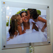 Photo Picture Frame 16x24 /a2 /40 X 60 Cm/24x16 Cheshire Acrylic Baby Wedding