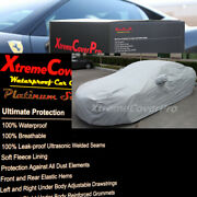 Waterproof Car Cover W/mirrorpocket Gry For 2010 2011 2012 Hyundai Genesis Coupe