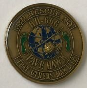 Usaf Jsoc Tier 1 Smu 33d Rescue Sq Hh-60g Pjs Jolly Green Giant Commanderand039s Coin
