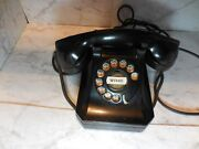 vintage Stromberg-carlson Rotary Desk Phone, 1940s, Nice For Parts Or Repair