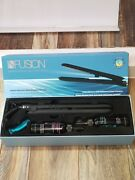 Nfusion Straightening Iron With Two Treatment Hydrating And Volumizing Solutions