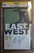 East Of West 1 Cgc Ss 9.8 Signed By Nick Dragotta