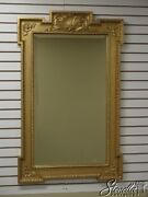 L41330 Friedman Brothers Model 6483 The Windsor Gold Decorated Mirror New