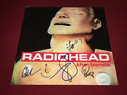 Radiohead Signed Lp Autographed The Bends X5 Thom Yorke Proof