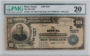 1902 10 Hico National Bank Note