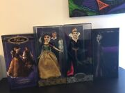Limited Edition Disney Snow White Charming And Evil Queen Dolls 12andrdquo