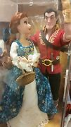 New Disney Store Fairytale Designer Limited Edition Doll Belle And Gaston
