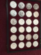 The Milestones Of Space Exploration 50 Silver Proof Coins Marshall Islands