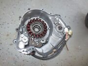 2005 Yamaha Grizzly 660 4x4 Atv Stator W/ Side Engine Cover 188/43