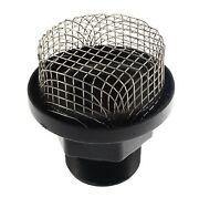 Bilge Livewell Pump Strainer Large 2 Male Marine Boat Baitwell Stainless Steel