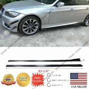 Fit For Bmw 5 F10 G30 Bottom Body Line Style Flat Side Skirt Rocker Extensions
