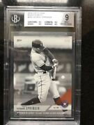 2018 Topps Now Black And White 185 George Springer 1/1 Bgs Mint