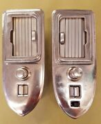 1955 Cadillac Rolltop Ashtray Assemblies And Switches Eldo Conv And Coupe De Ville