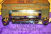 Old Ford Lincoln Classic 1956 1957 Town And Country Car Dash Radio Made In Usa