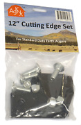Replacement Cutting Edge Blade Set For 12 In Standard Duty Earth Augers