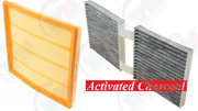 Engine Air Filter + Cabin Pollen Filter For Bmw 2011-2017 X3 And 2015-2018 X4