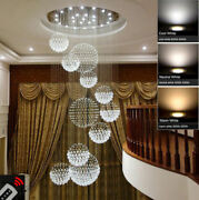 New Modern Led Crystal Ceiling Light Pendant Lamp Chandelier Can Be Customized