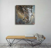 Fashionable 3d Animal Wall Art Painting Special Home Use Galvanized Metal Wall