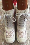 Coach Dorean Womenand039s Khaki Suede Leather Insulated Boots Size 7b Euc Msrp 279