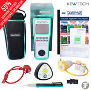 Kewtech Smartpat Battery Operated Pat Tester Uno And Ktp1 Plus Extras Kit