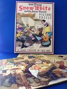 Gem Mint Snow White Puzzles In Box 1938