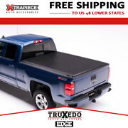Truxedo Edge Tonneau Cover Roll Up Fit 07-14 Chevrolet Silverado 2500 8and039 Bed