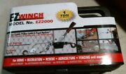 Ez Winch Ez2000 Heavy Duty 1 Ton Cable Puller With 5' Reach Free Shipping