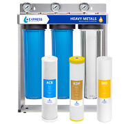 Whole House Heavy Metal Water Filter – 3 Stage Home Water Filtration System